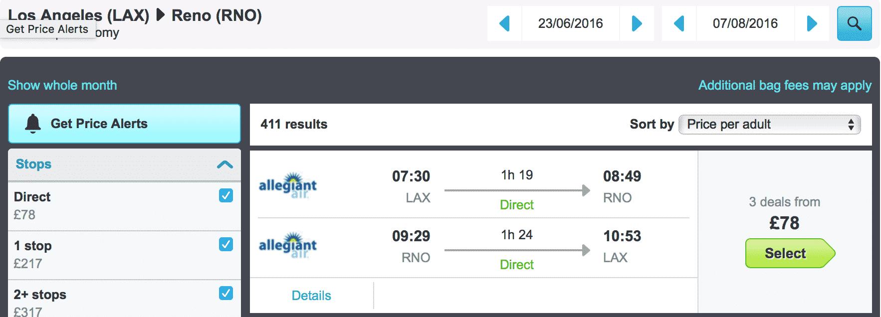 how to book an error airfare