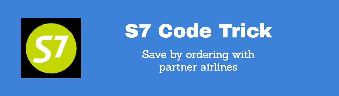 s7 codeshare hack